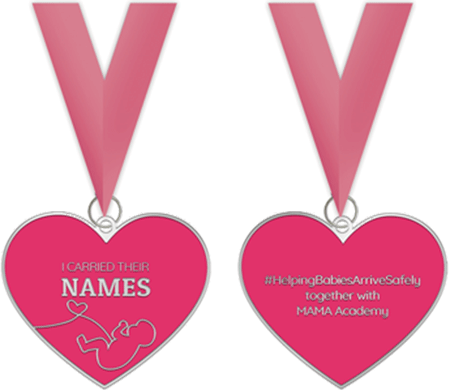 Carry Their Names Challenge Medals